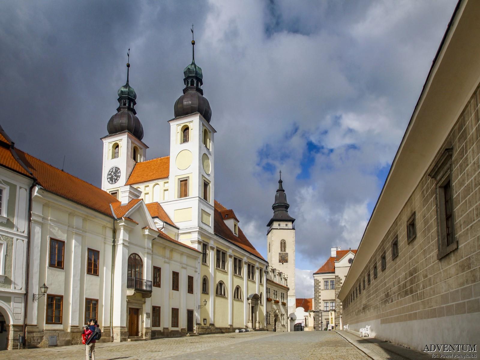 Telcz Telč czechy klasztor atrakcje zamek klasztor Unesco rynek zwiedzanie przewodnik