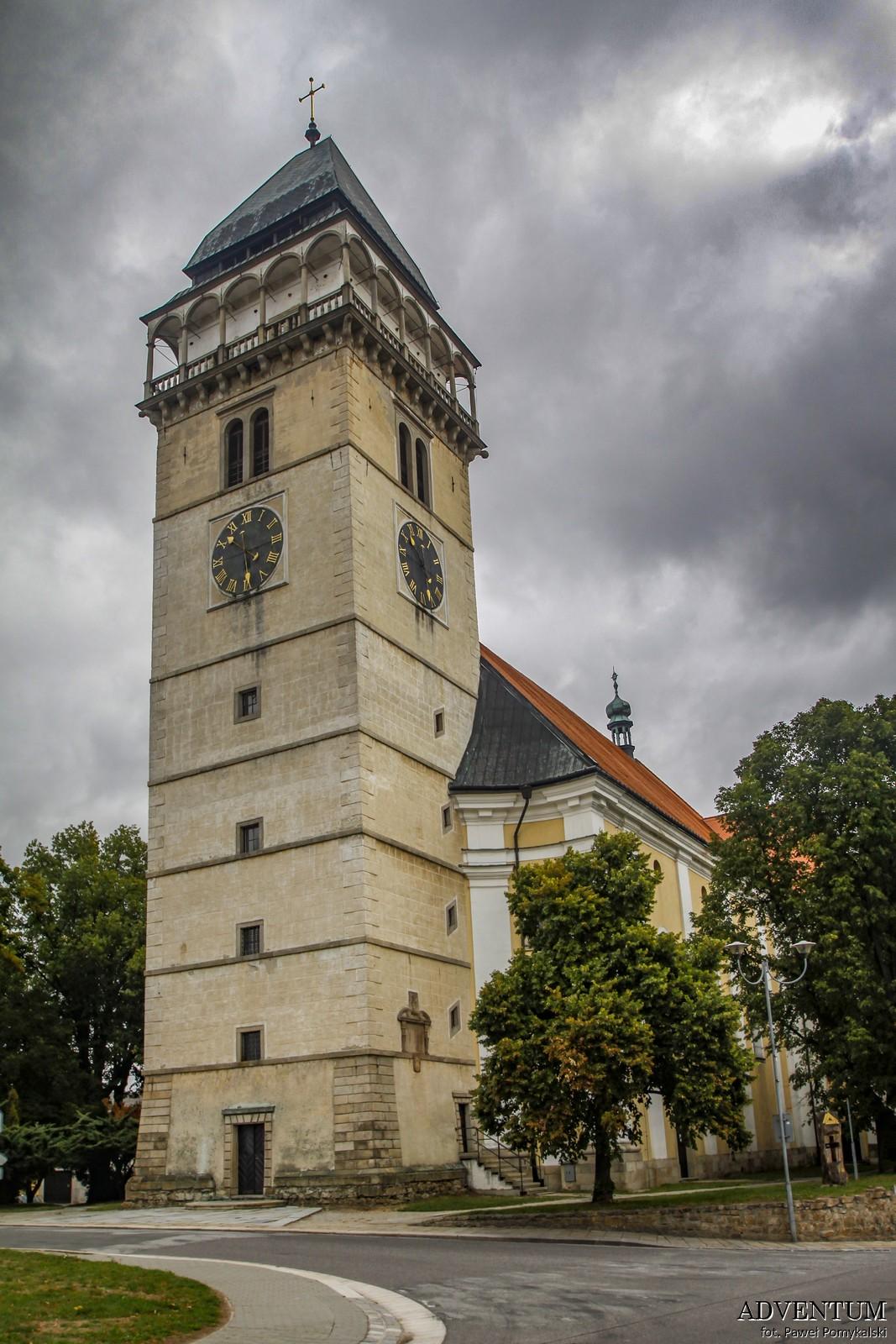 Telcz Telč Dačice czechy atrakcje zamek klasztor Unesco rynek zwiedzanie przewodnik