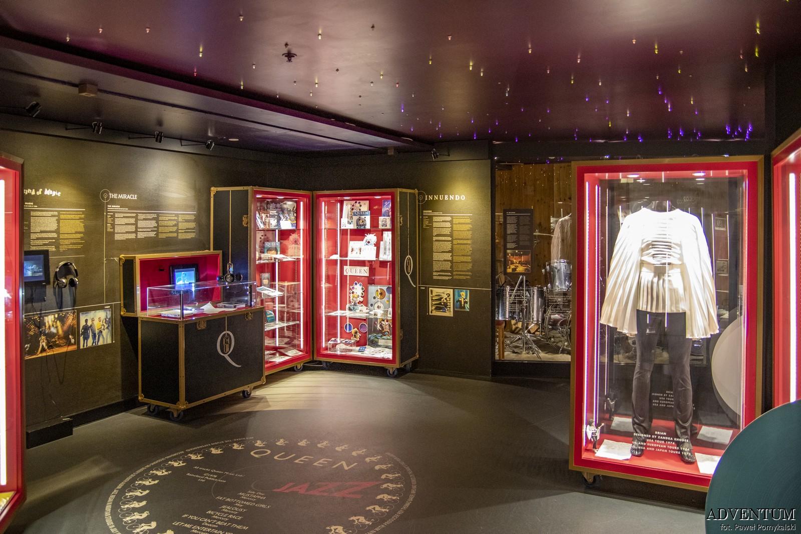 Queen Montreux Szwajcaria Freddie Mercury Studio Experience Jezioro Genewskie