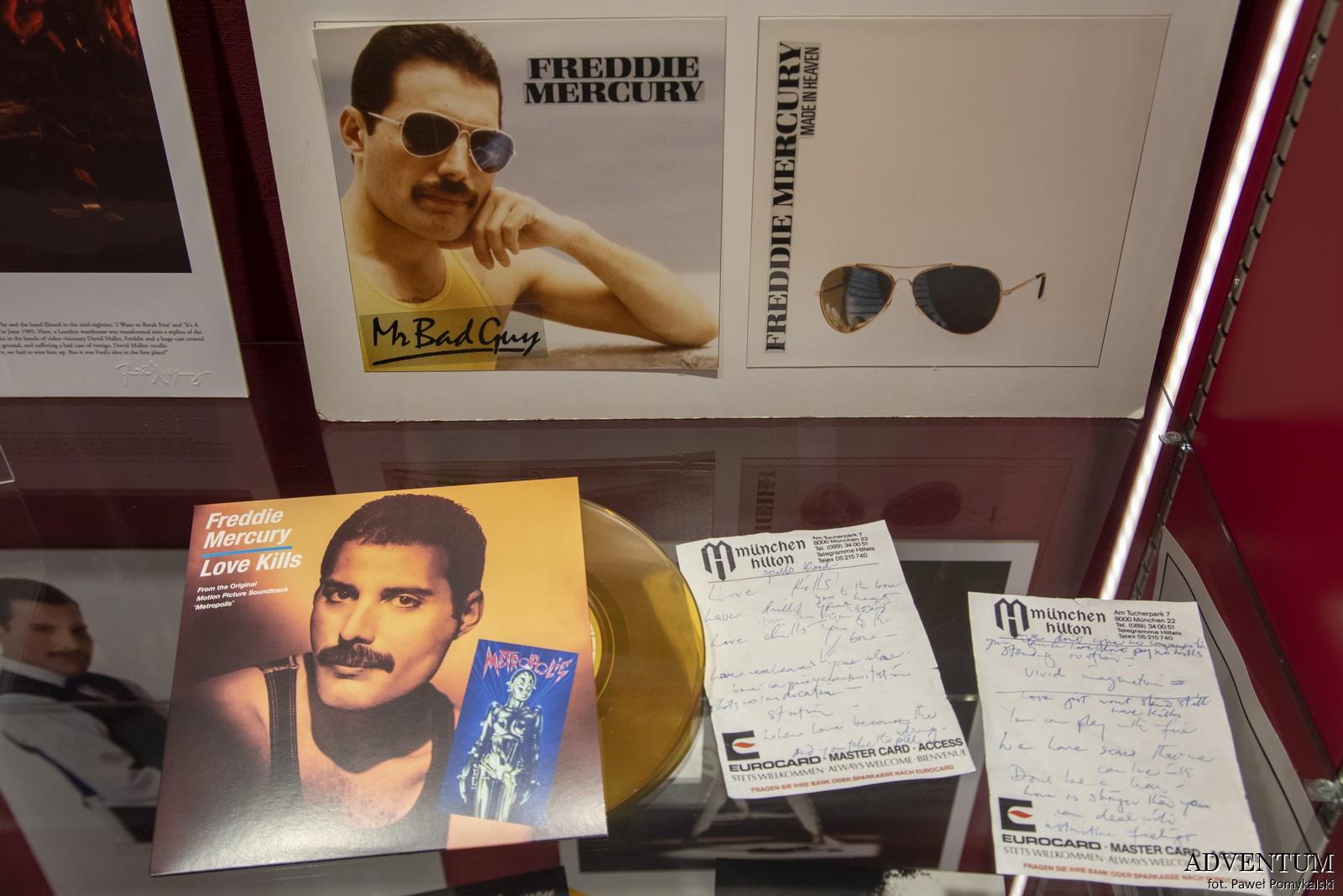 Queen Montreux Szwajcaria Freddie Mercury Studio Experience Jezioro Genewskie Freddie Mercury