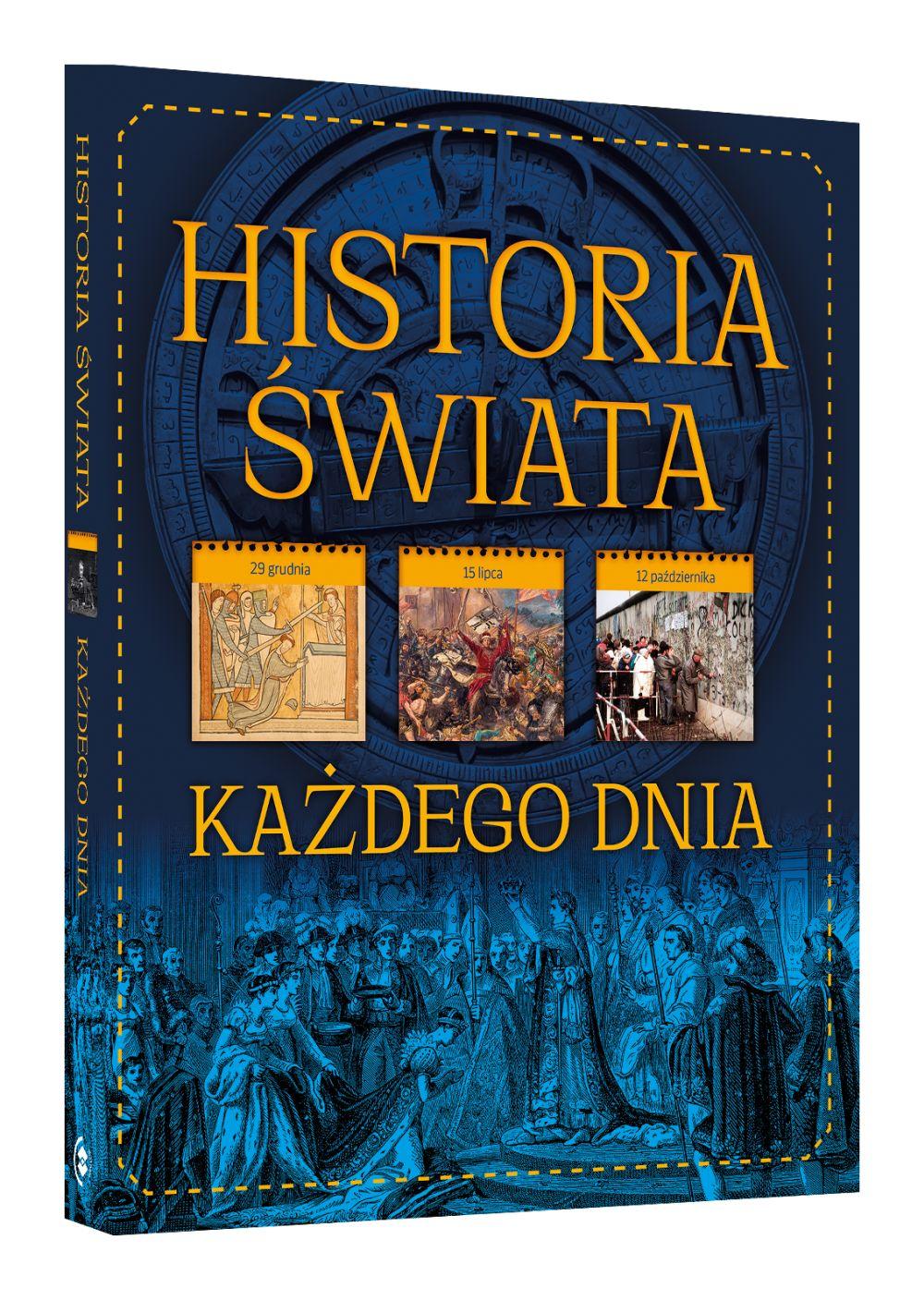 Historia swiata każdego dnia wydawnictow SBM Beata Paweł Pomykalscy