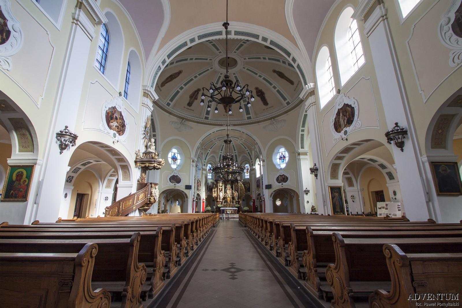 Katowice Nikiszowiec Górny Śląsk Plan Mapa Cegła Zdjecia Janów Kościół św Anny