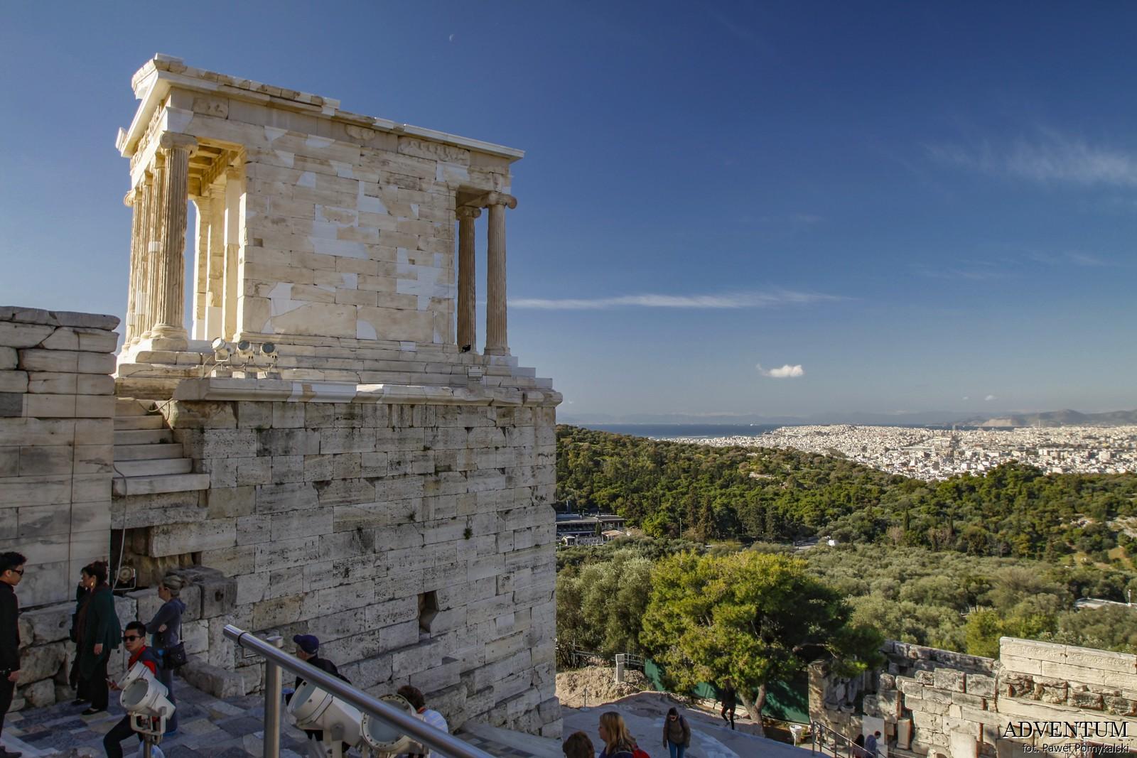Ateny Akropol Atrakcje Zwiedzanie Loty Tanie Linie co Zobaczyć