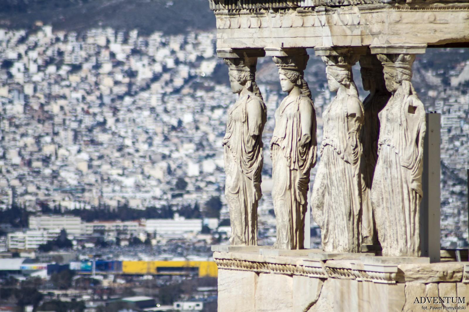 Ateny Erechtejon Akropol Atrakcje Zwiedzanie Loty Tanie Linie co Zobaczyć