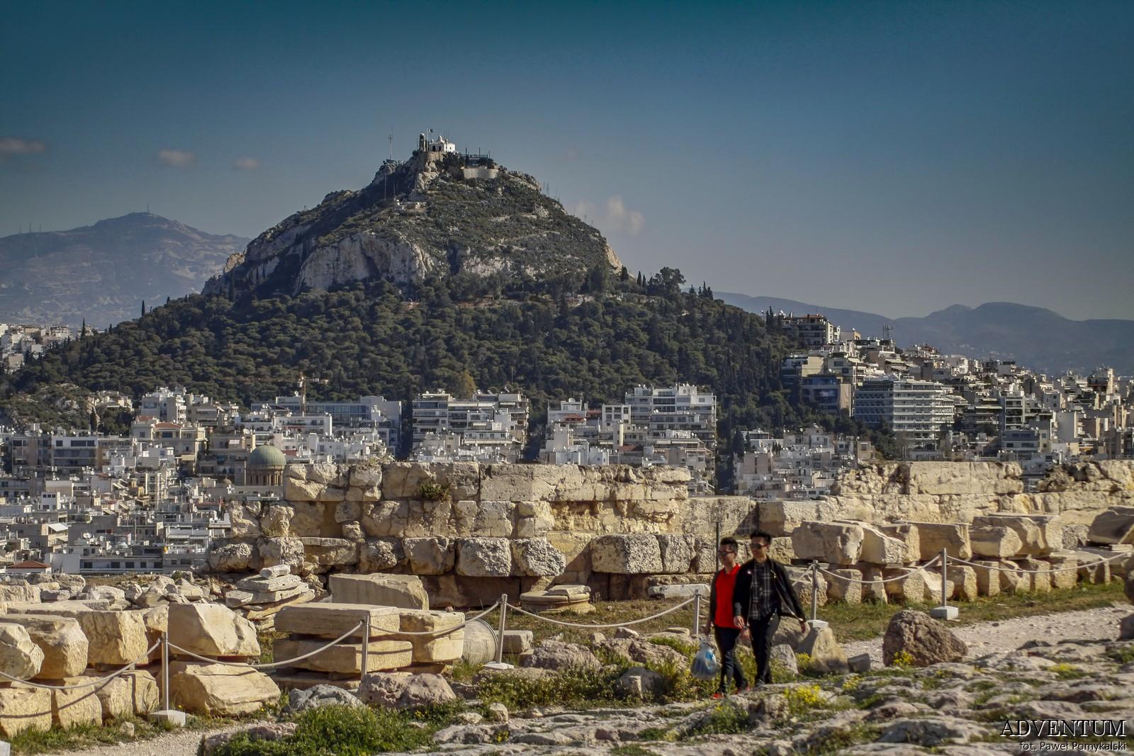 Ateny Widoki Punkt Widokowy Wzgórze Lycabettus Atrakcje Zwiedzanie Loty Tanie Linie co Zobaczyć