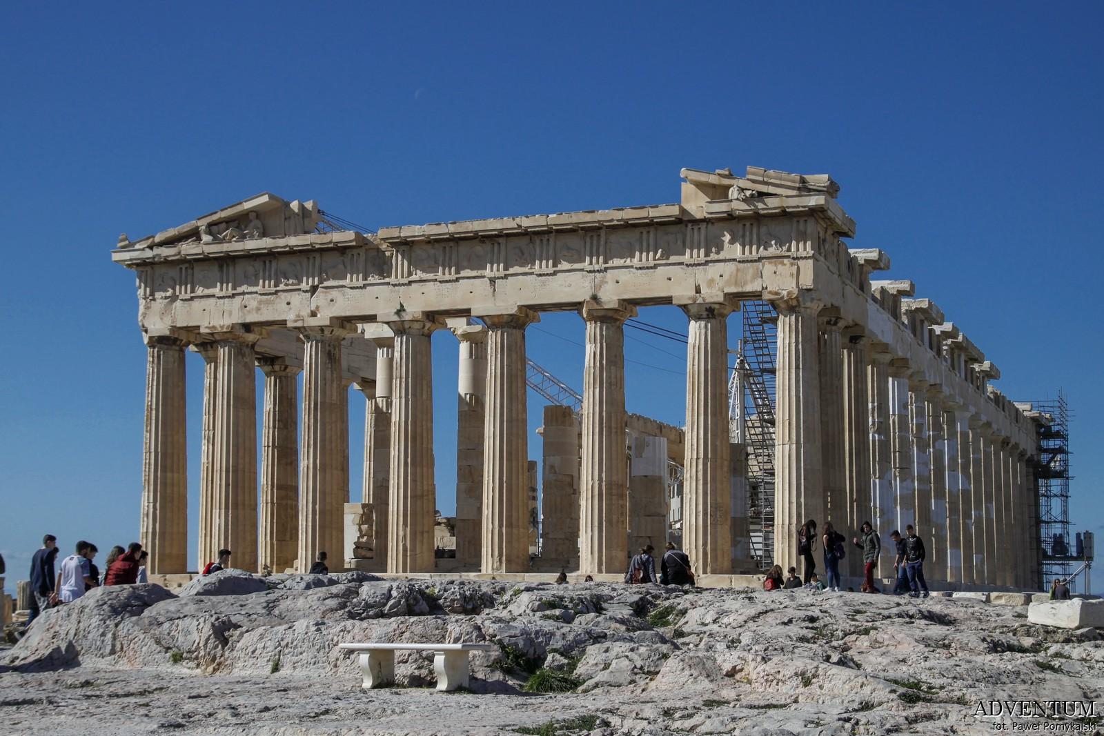 Ateny Partenon Akropol Atrakcje Zwiedzanie Loty Tanie Linie co Zobaczyć