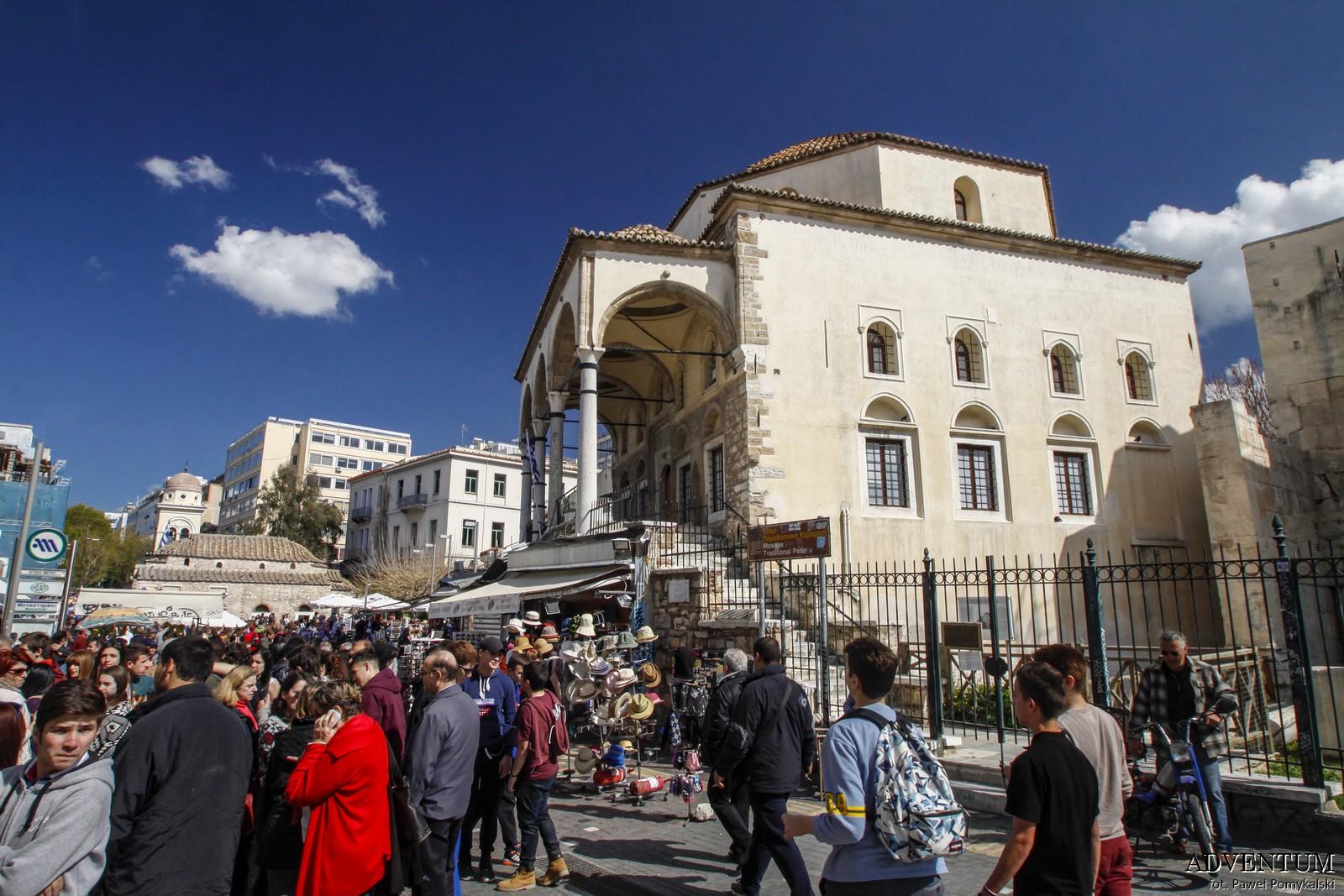 Ateny Monastiraki Atrakcje Zwiedzanie Loty Tanie Linie co Zobaczyć