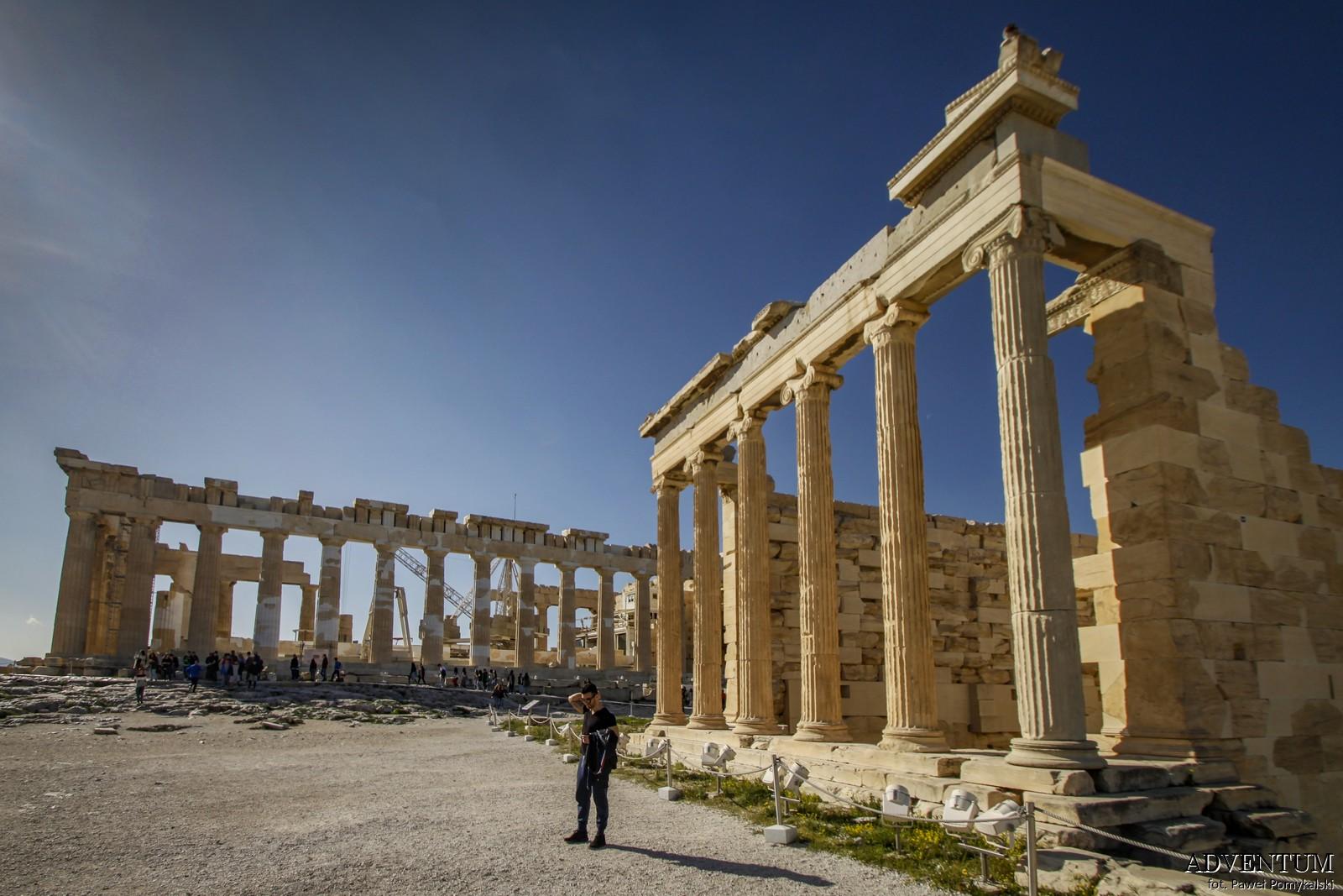 Ateny Erechtejon Atrakcje Zwiedzanie Loty Tanie Linie co Zobaczyć Akropol Muzeum Muzea