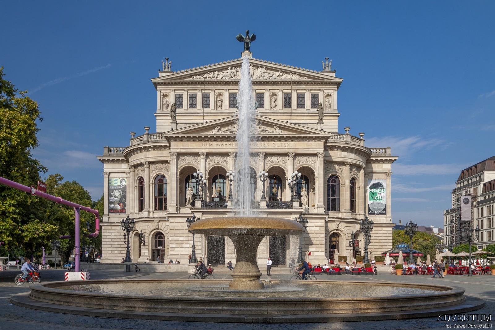 Frankfurt nad Menem Niemcy Zwiedzanie Atrakcje co zobaczyć