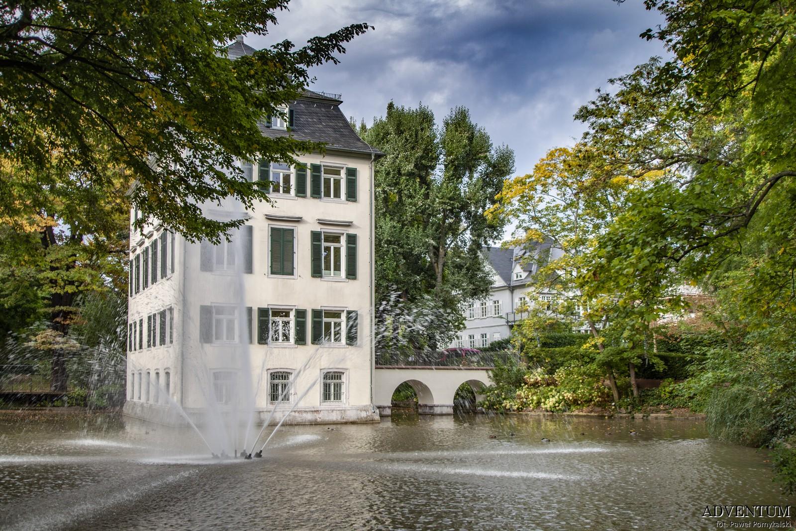 Pałac na wodzie Frankfurt