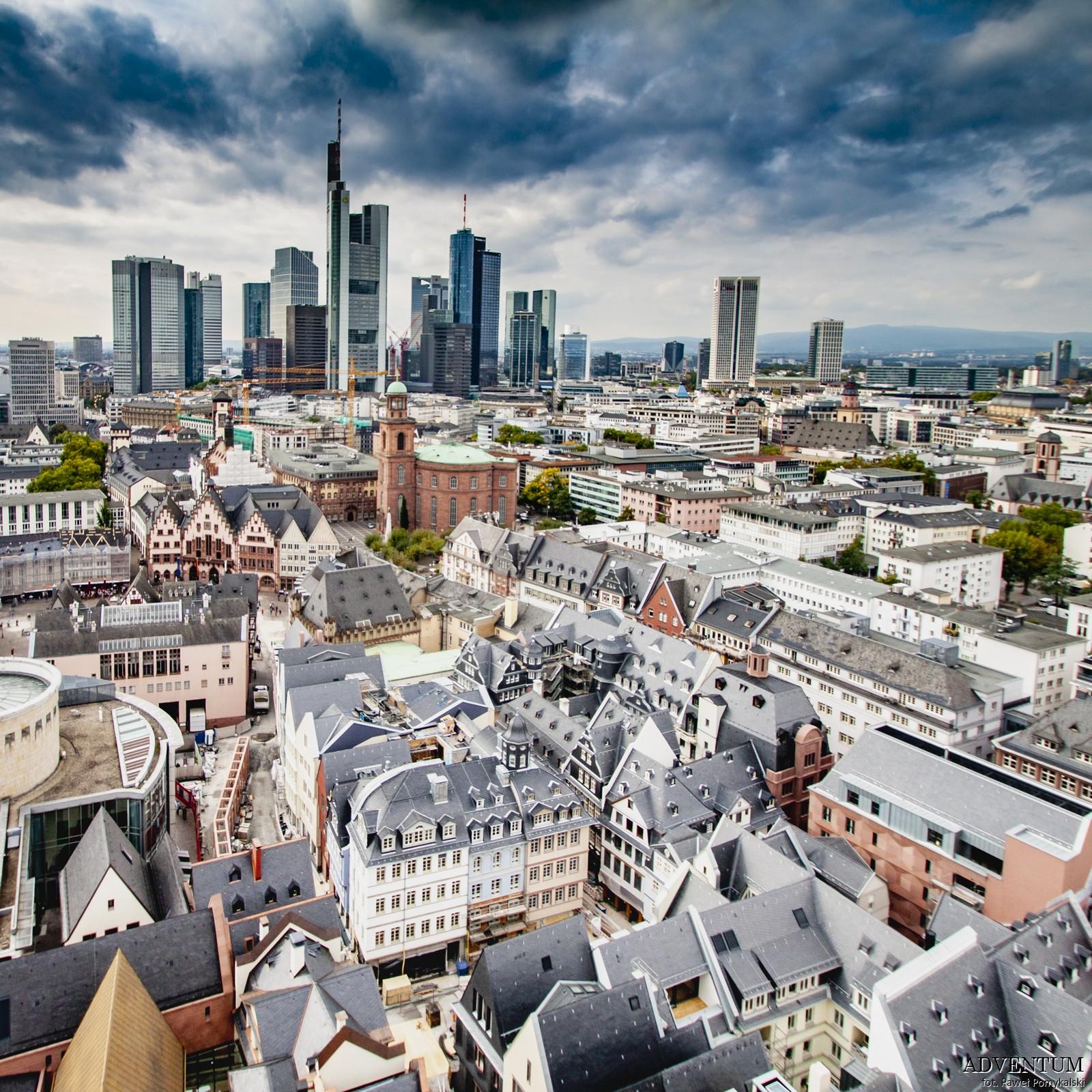Panorama Frankfurtu