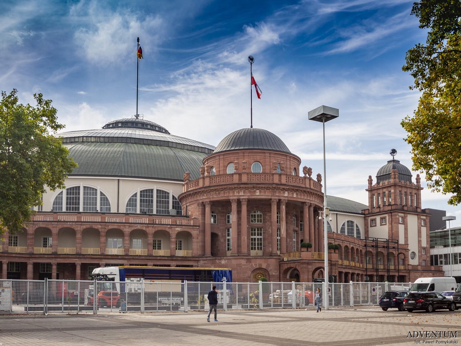 Targi Frankfurt nad Menem Niemcy Atrakcje Co zwiedzać