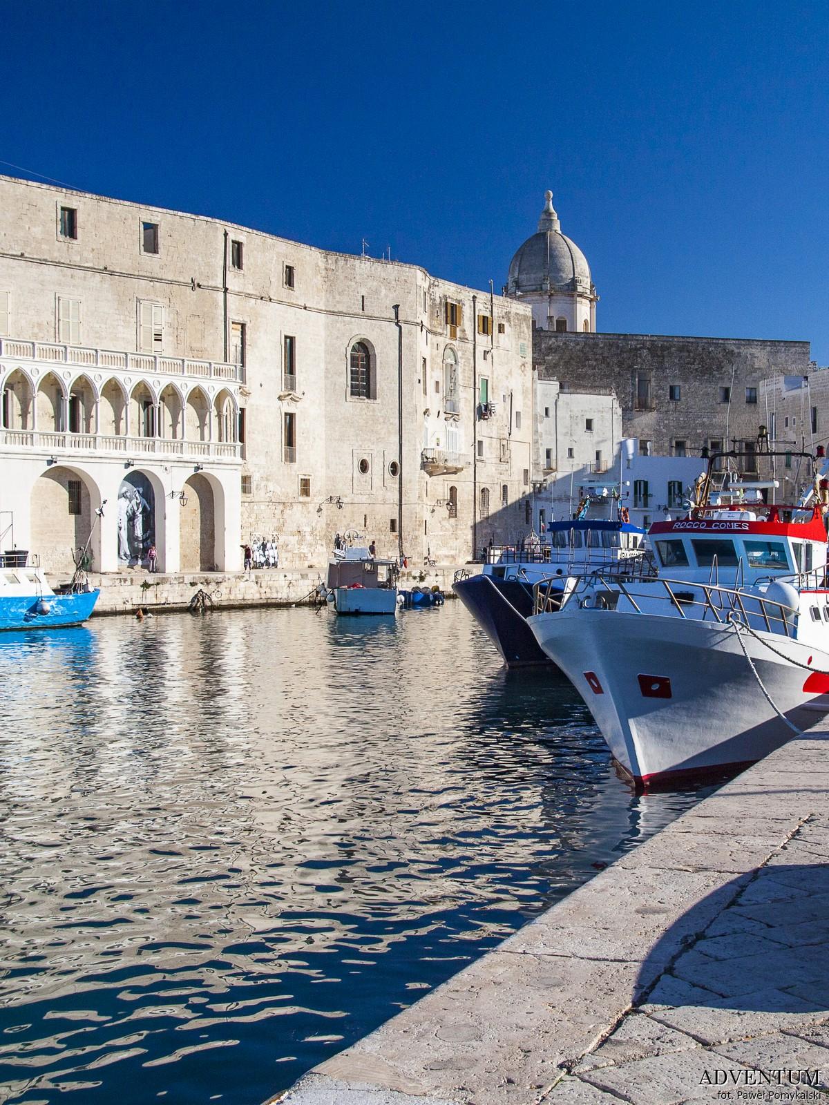 Apulia Monopoli Zwiedzanie Bari Atrakcje Plaże Wlochy Italia