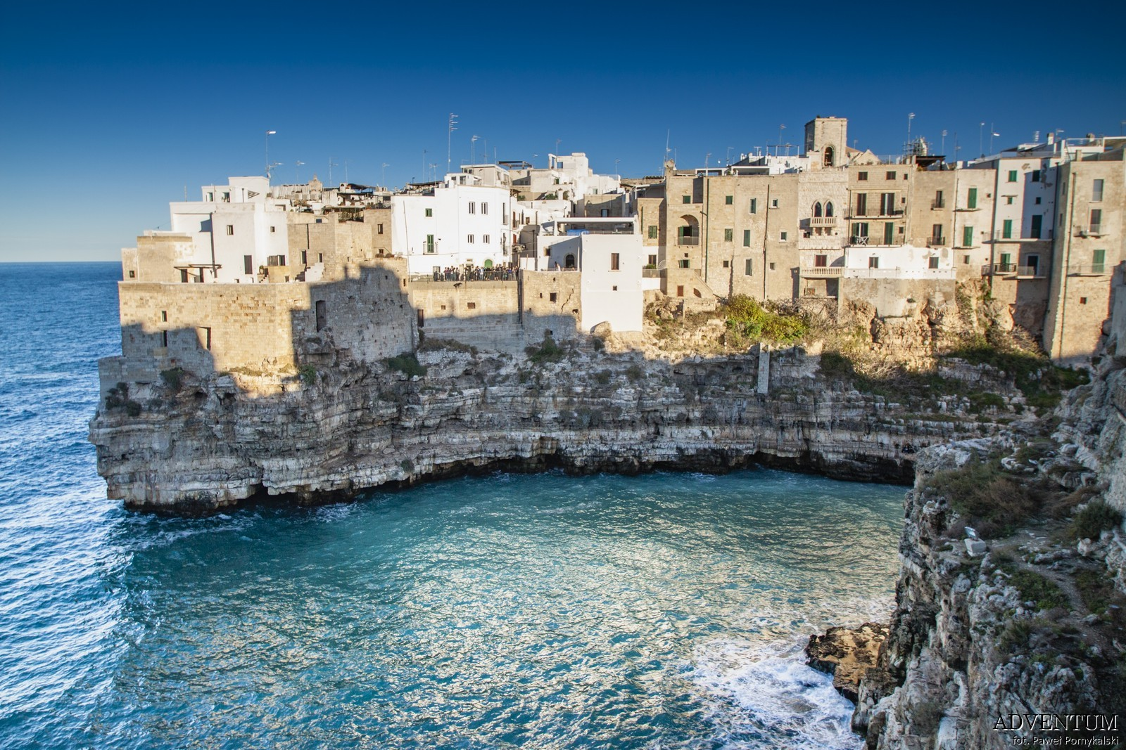 polignano a mare apulia Włochy Atrakcje zwiedzanie plaża Blog historia