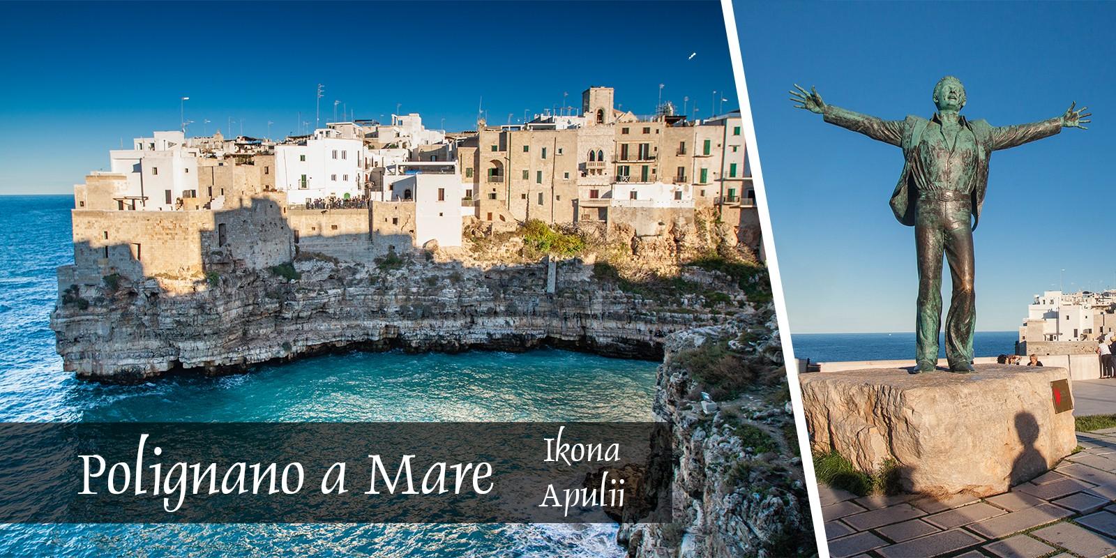 polignano a mare apulia Włochy Atrakcje zwiedzanie plaża Blog historia okolice Bari plaża