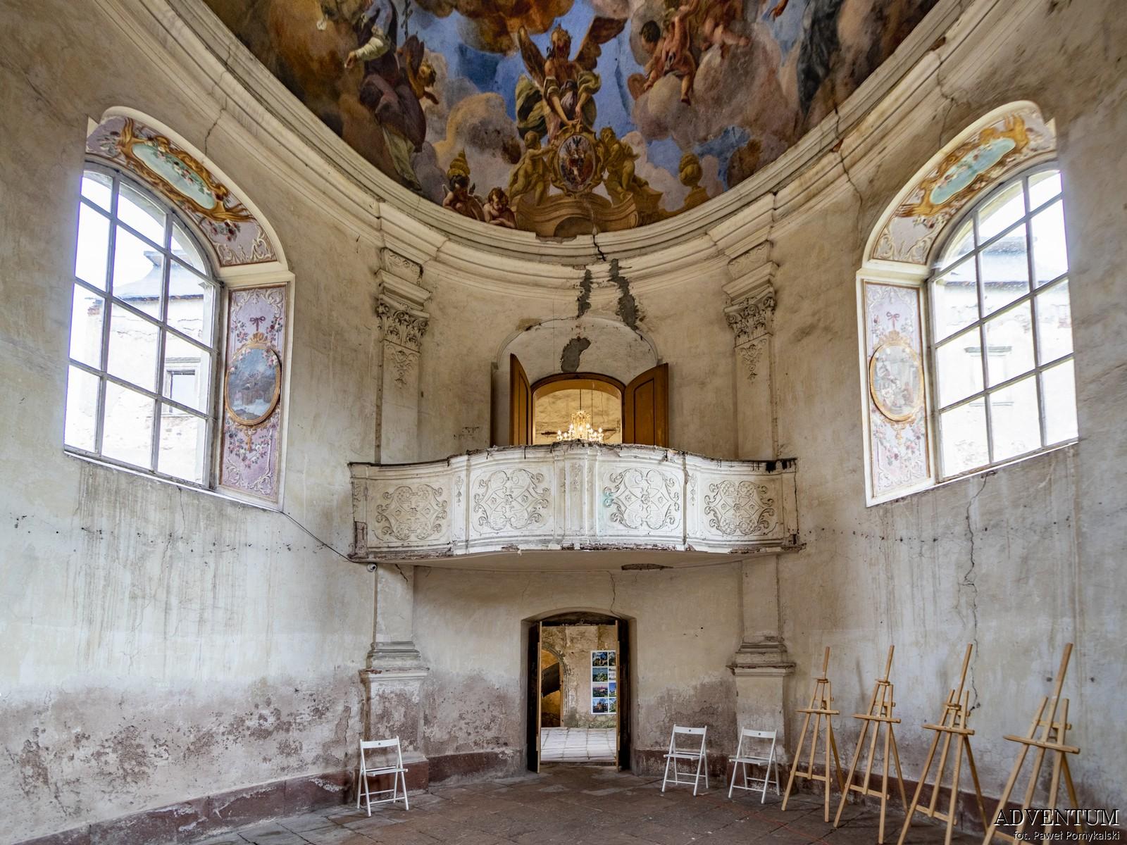 Kaplica jana Nepomucena Barok Dolny Śląsk Kotlina Kłodzka
