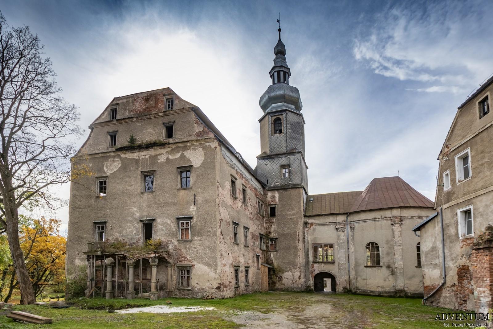 Zamek Sarny Dolny Śląsk Ścinawka Dolnośląskie Atrakcje Zwiedzanie Kotlina Kłodzka