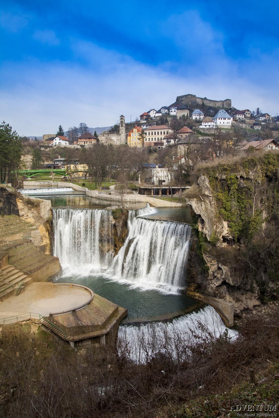jajce Bośnia i hercegowina bałkany atrakcje zwiedzanie co zobaczyć