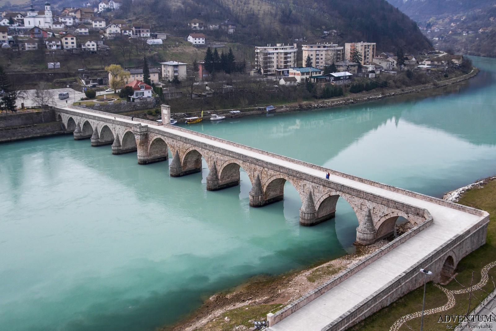 Višegrad Bośnia i hercegowina bałkany atrakcje zwiedzanie co zobaczyć