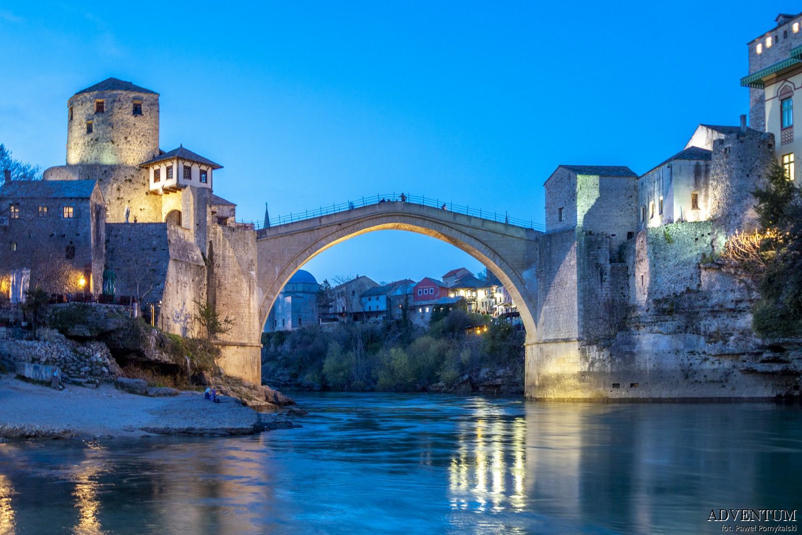 Mostar Bośnia i hercegowina bałkany atrakcje zwiedzanie co zobaczyć