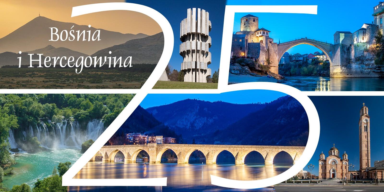 Bośnia i Hercegowina atrakcje zwiedzanie sarajweo mostar Bałkany Trebinje Banja luka