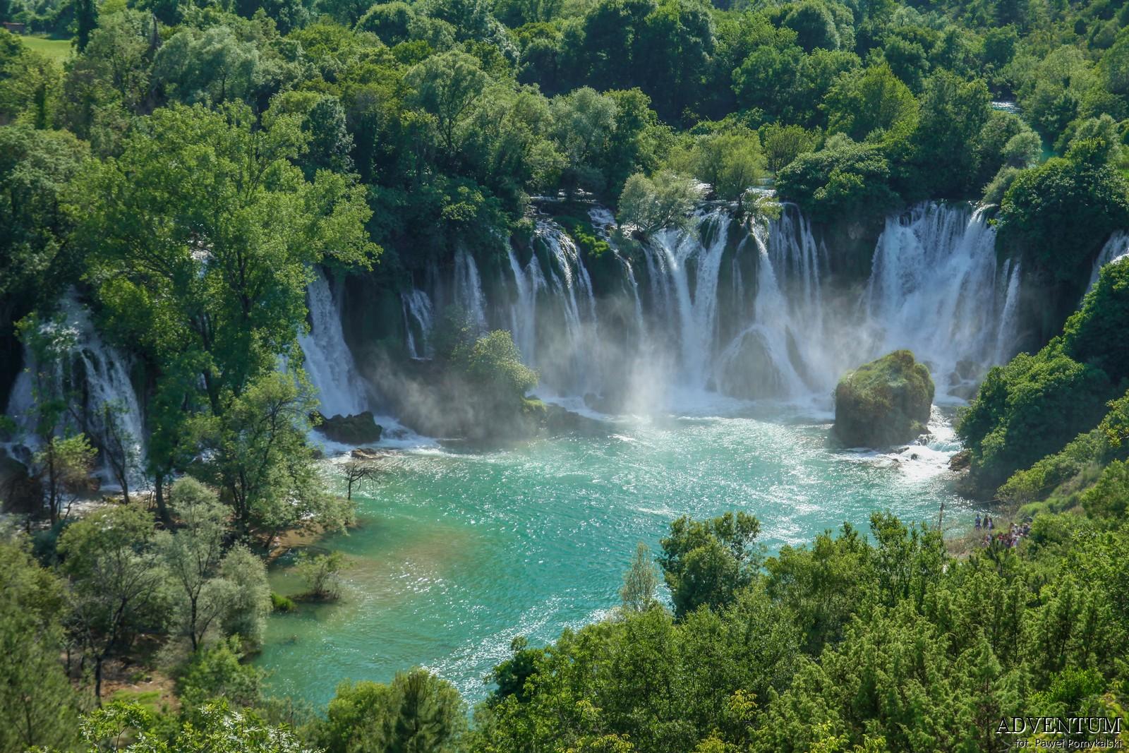 Kravice Bośnia i hercegowina bałkany atrakcje zwiedzanie co zobaczyć