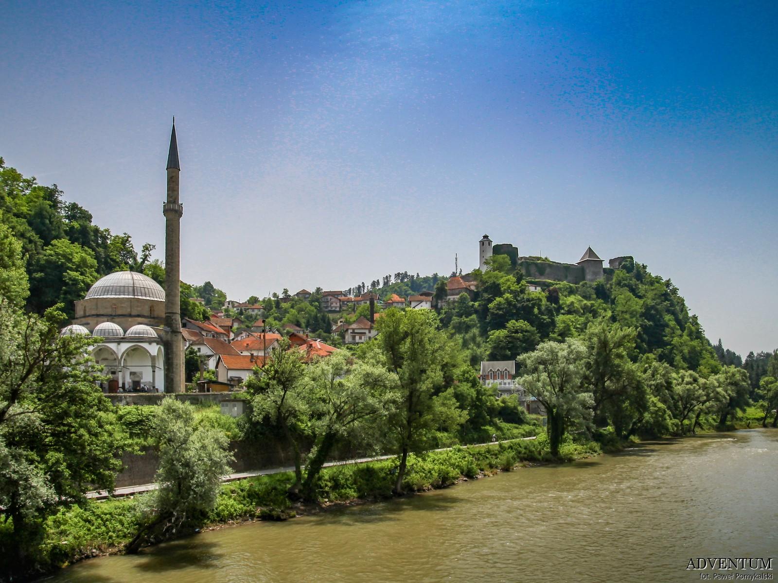 Maglaj Bośnia i hercegowina bałkany atrakcje zwiedzanie co zobaczyć