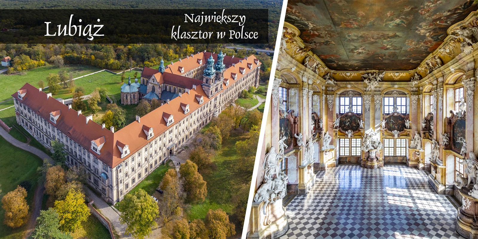 Lubiąż Klasztor Zwiedzanie Kościół Imprezy Atrakcje Dolny śląsk Solnośląskie pomysł wycieczka