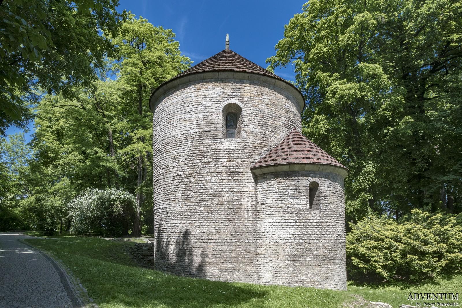 rotunda zamek cieszyn