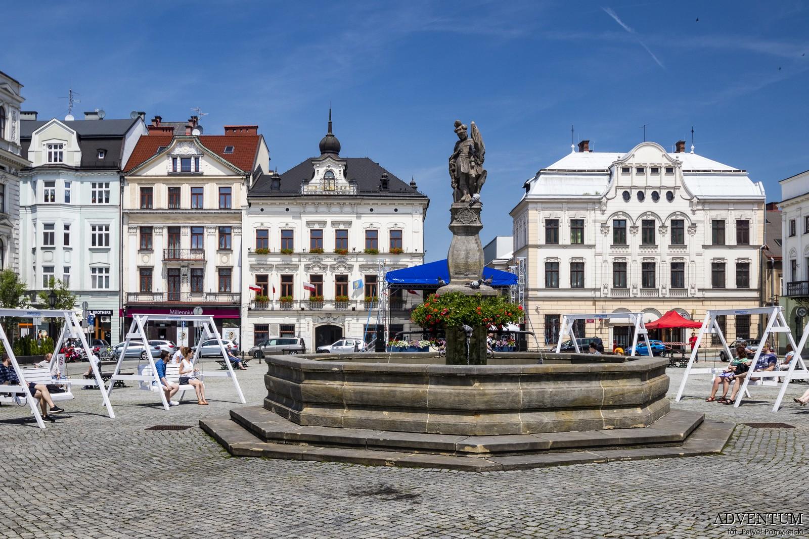 Cieszyn czeski zwiedzanie pomysł na weekend przewodnik atrakcje zabytki czechy śląsk górny rynek