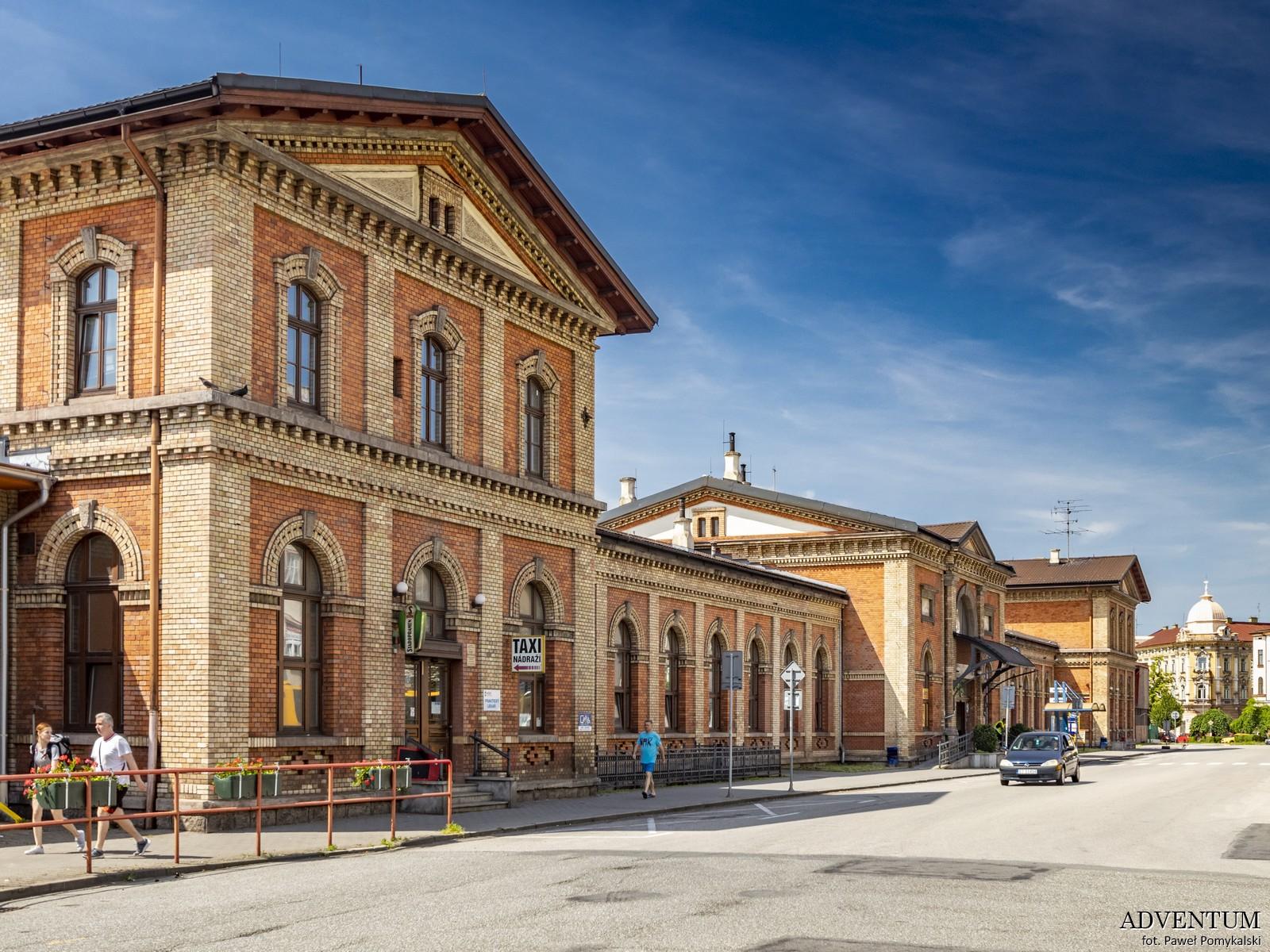dworzec kolejowy czeski cieszyn